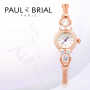 luxry korea made jewerly watch stainless steel rose gold