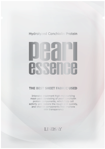 Lindsay pearl essence mask_  facial mask sheet pack