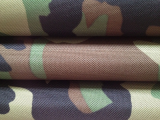 Europe camoflage polyester pvc fabric for military bag and tent