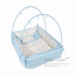mesh polyester product net folding mattress infants cushion portable summer netting baby mosquito bed crib set