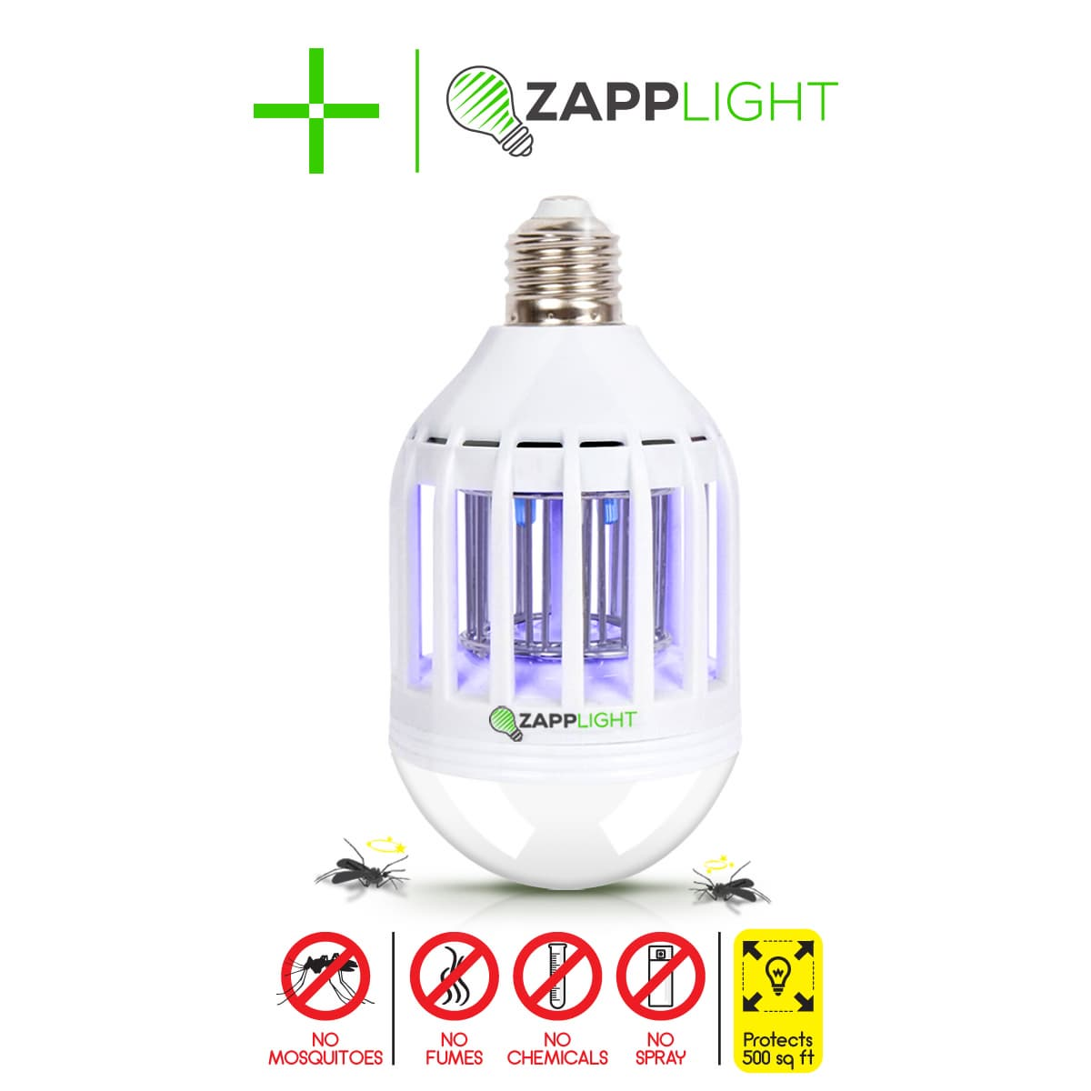 Zapplight 2in1 Led Bulb Bulbs Zapper Mosquito Bug Killer From Hnsbridge Co Ltd South Korea