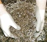 NBR Palm Coated HPPE Fiber Gloves
