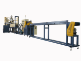 PE foam pipe extrusion line KOREA