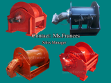 High Speed Hydraulic Winch customized design