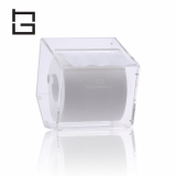 five-side acrylic tissue holder box container