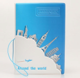 Around the world 3D Travel Passport Holder