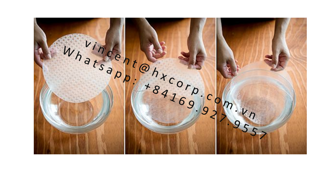 Vietnamese Rice Paper from rice starch