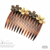 Angel Flower hair comb