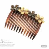 Angel Flower hair comb