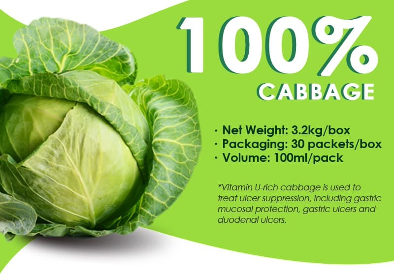 Zaram Food 100 Natural Cabbage Juice Tradekorea