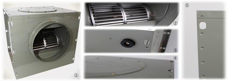 Fanzic-Korea centrifugal ventilation fans