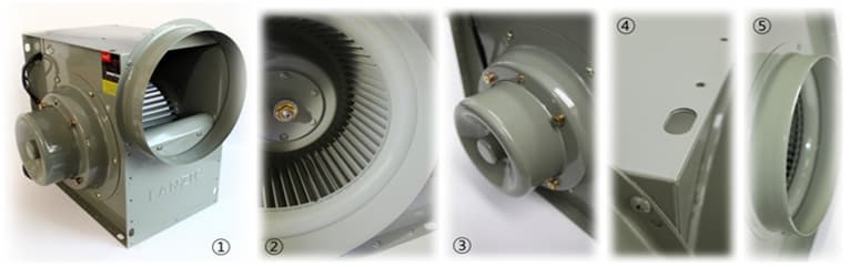 Korea ventilation fan-fanzic