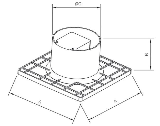 plastic exhaust fans  bathroom type