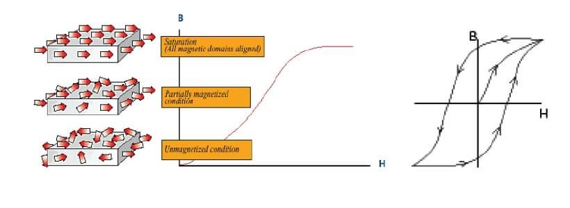 Magnetization process