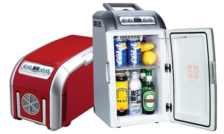 Best Car Refrigerator : V dc car fridge mini cooler box from sanying