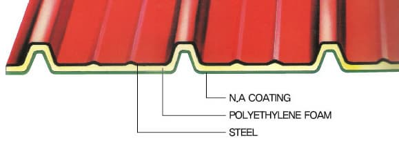 Master(M/T) insulation steel