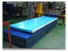 Steel plate processing for PDS PANEL