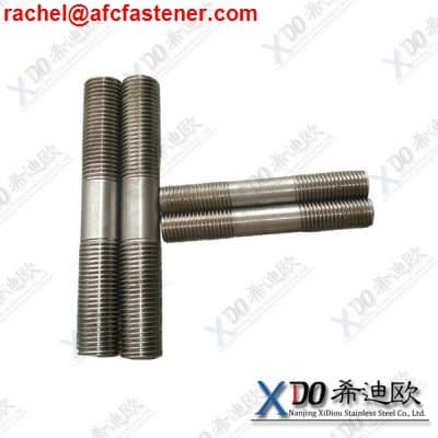 UNS N10276 stud bolts with nuts and washers