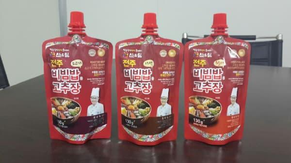 Korean Seasoned Hot Pepper Paste(3kinds)