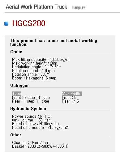 HGCS280