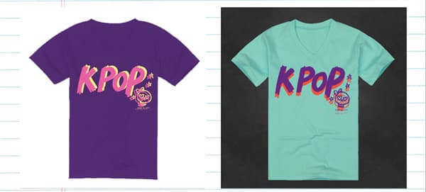 K pop design t shirt from eve company b2b marketplace for Cheap t shirt design websites