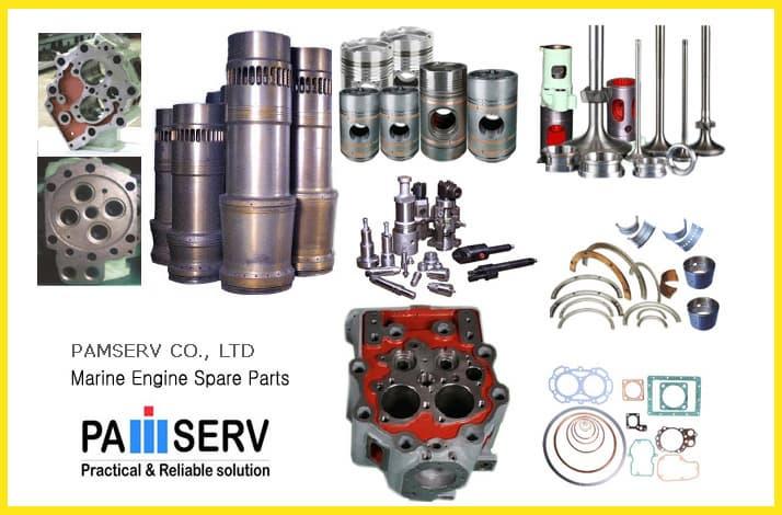 Spare Parts of Marine Diesel Engine - Daihatsu, Mitsubishi