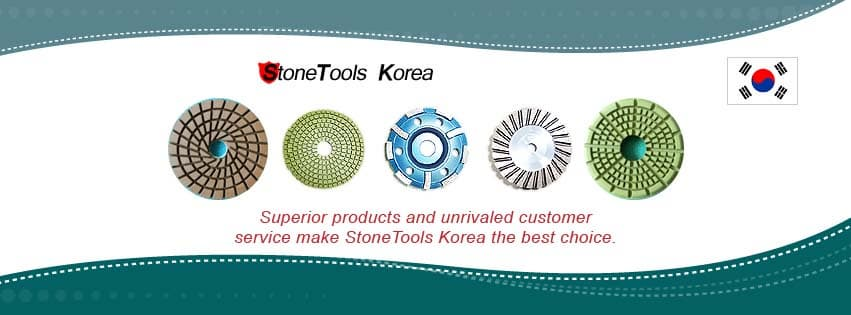 RM Tech Korea (StoneTools Korea®) is a new leading diamond tools manufacturer in Korea. We are specialized in polishing pads and grinding cup wheels for granite, marble, engineered stone and concrete.