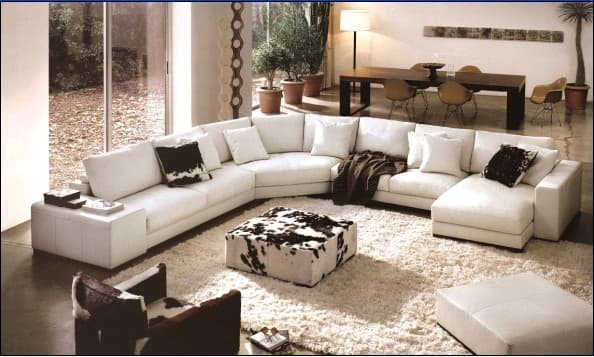 Corner sofa k010 from dongguan wollson furniture co ltd for 9 seater sofa set designs