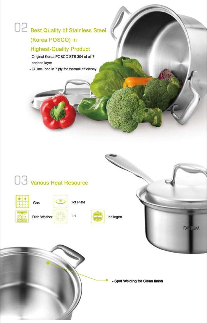 FAVIUM from Hanil STS B2B marketplace portal & South Korea product wholesale. Keyword cookware pot set - 웹