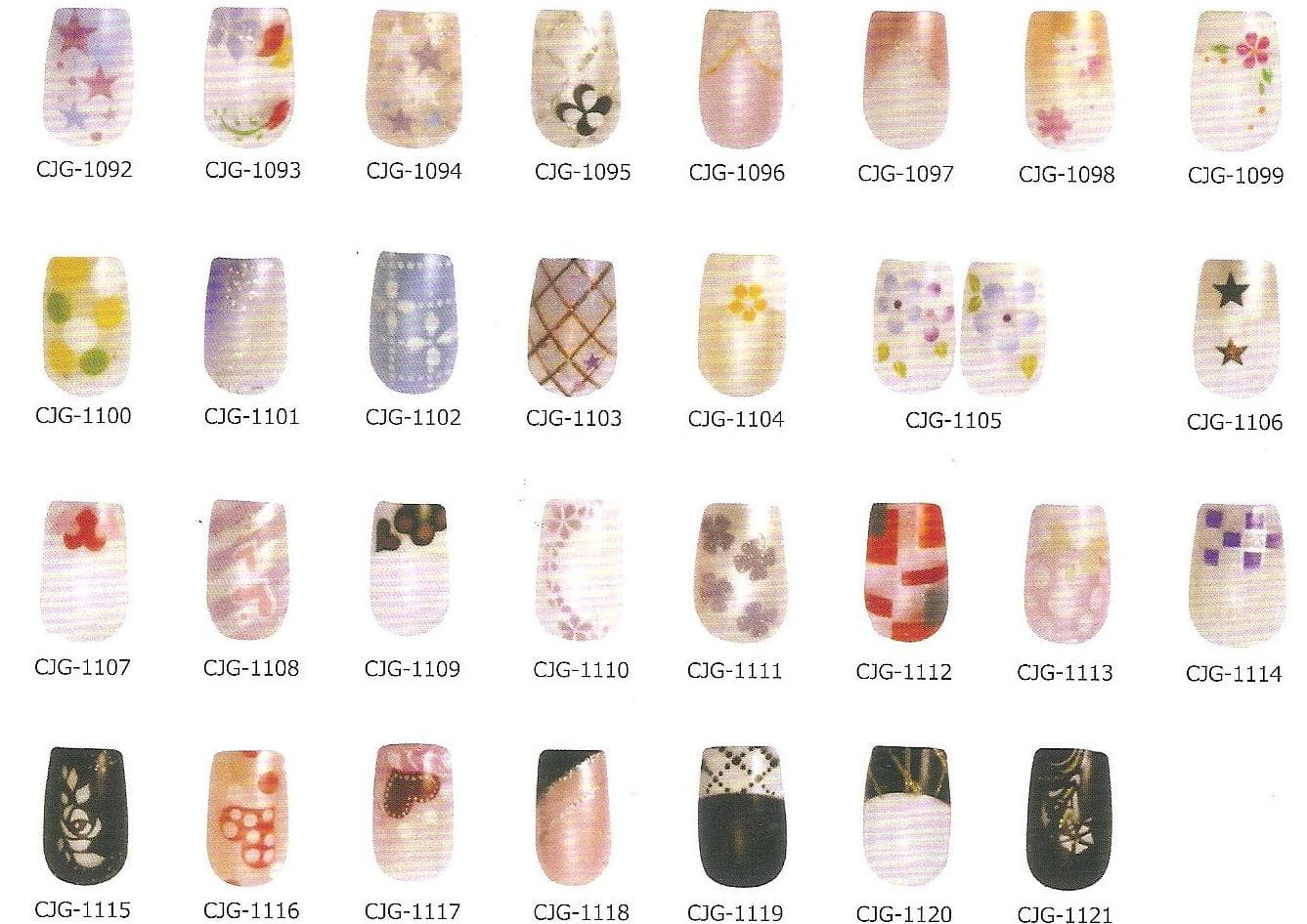 Air brush Nails stickers from M & G CO., LTD B2B marketplace portal ...