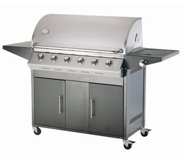 Free Standing 6Burner Gas Grill from Sunbird Technology Development Co