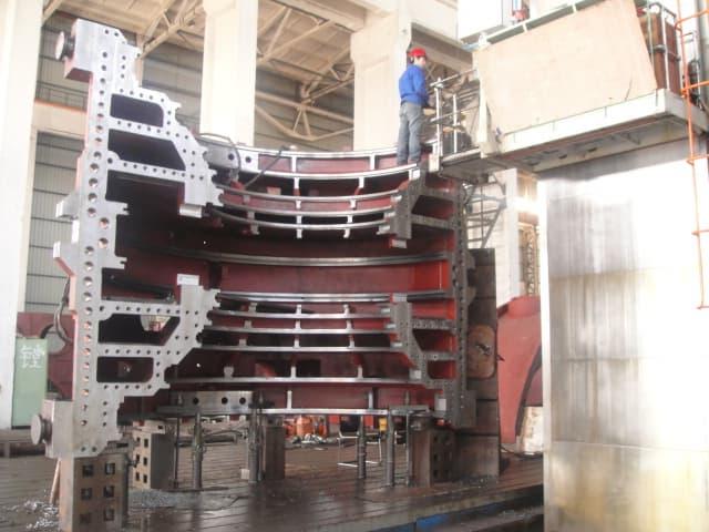 Finish Machined 1000mw Steam Turbine Low Pressure Inner