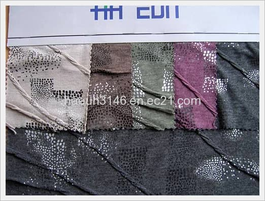 <strong>Rayon</strong>/<strong>Polyester</strong> Blend Crimp/Printing S/S Fabric