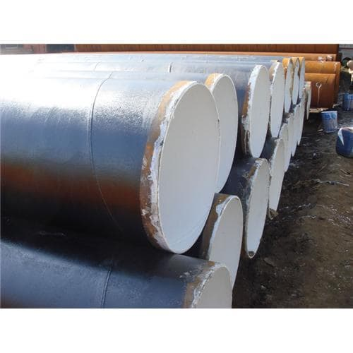 Coal Tar Pipe : Coal tar spiral welded steel pipe from hebei shenzhou