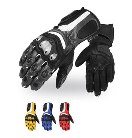 <strong>Motorbike</strong> Leather Gloves-Professional Gloves