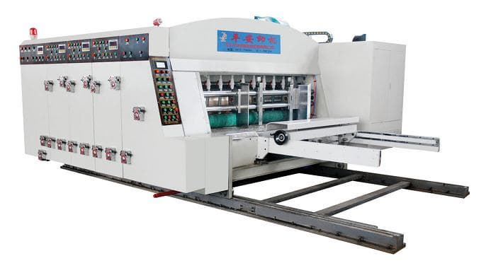 High Speed Printer Slotter Die-cutter Machine