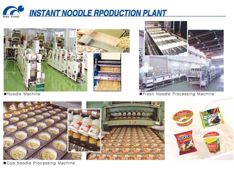 Instant Noodle Production Plant