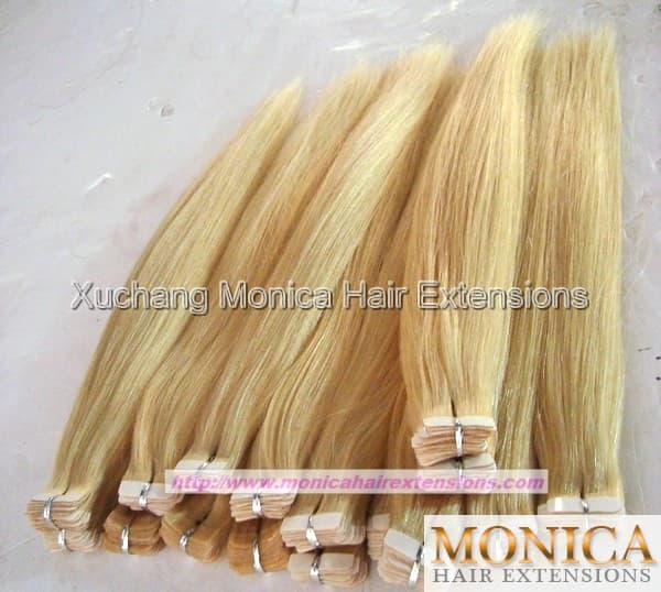 Adhesive tape hair extensions from xuchang monica hair extensions adhesive tape hair extensions share product thumnail image product thumnail image zoom pmusecretfo Gallery