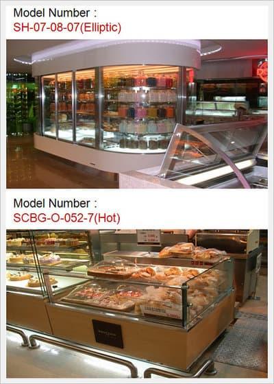 Customized Bakery - SH-07-08-07(Elliptic), SCBG-O-052-7(Hot)