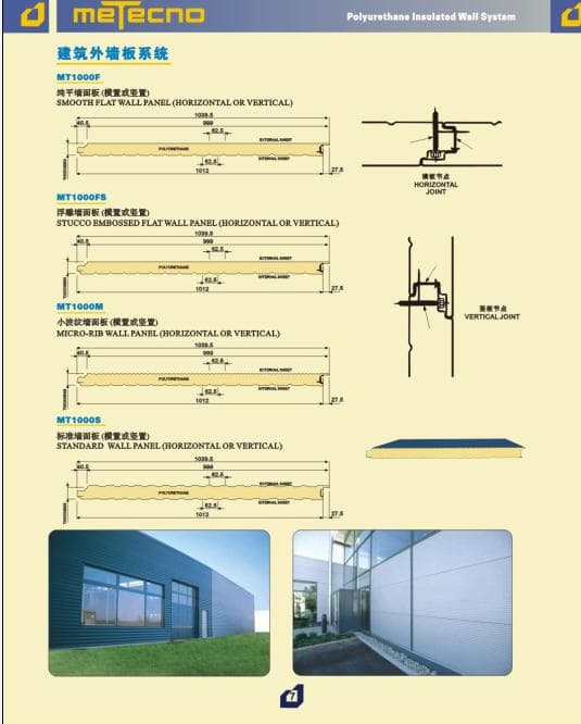PU Sandwich Panel/Wall Panel/Roof Panel/Cool Room Panel/Sectional Door/Industrial Door/Garage Door