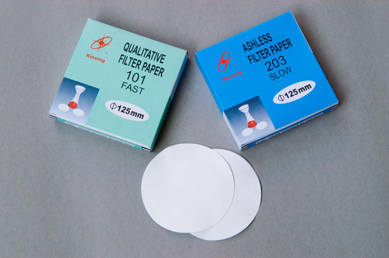 Filter paper chemical analysis filter paper qualitative filter paper quantitative filter paper