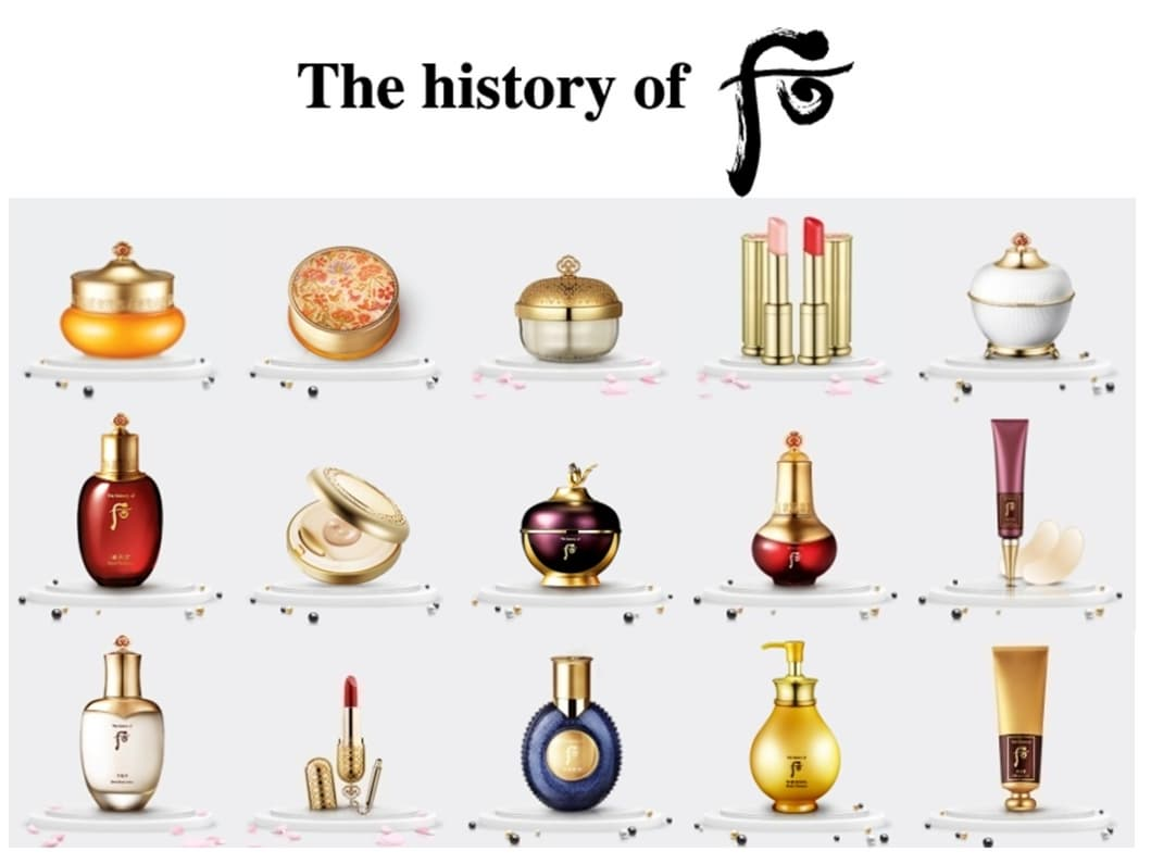 The History Of Whoo Cosmetic Wholesale From Amicell Co