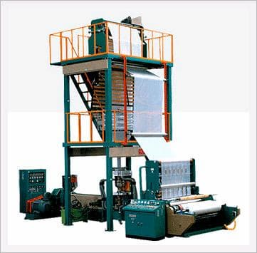 Blown Film Extrusion Line with