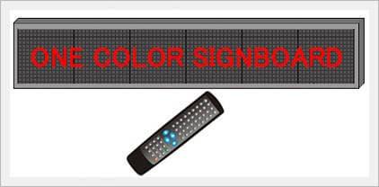 Remote Control Signboard