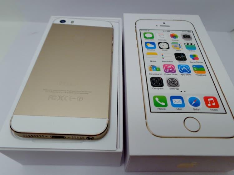 Original Apple Iphone 5s 32gb Unlocked Gold From