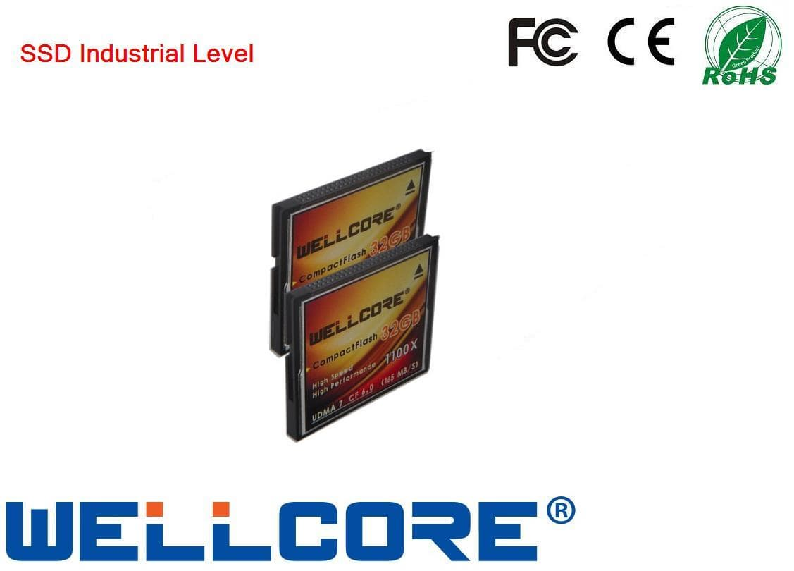 wellcore 50pin CF6.0 card 32gb with 167MB/s(1100X) for DV/SLR