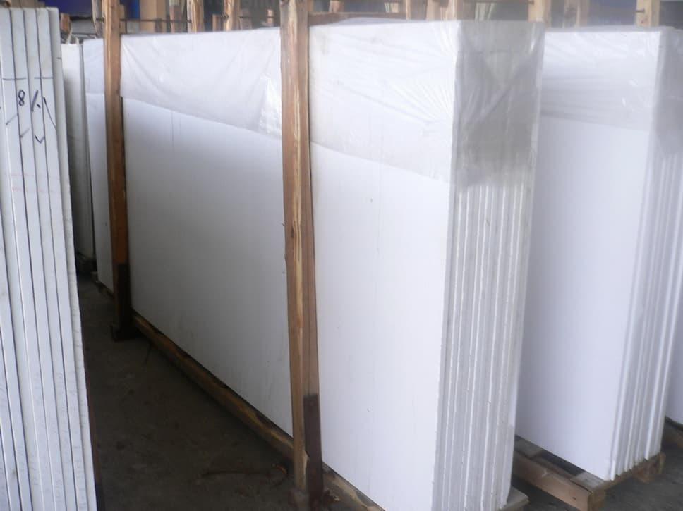 Nano white marble