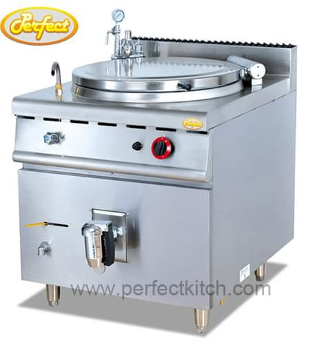 Gas tilting brasing pan from guangzhou perfect kitchen for Perfect kitchen equipment