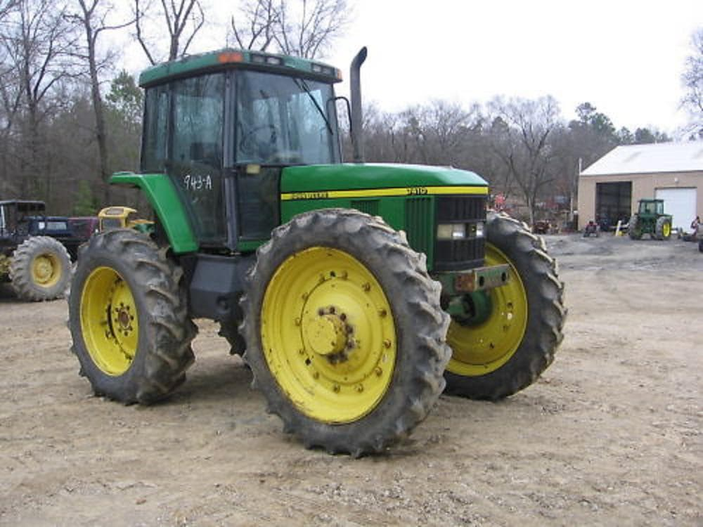 Farm Tractors Product : John deere mfwd farm tractor hp h from barry