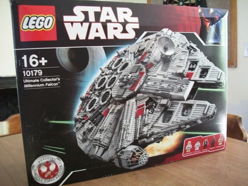 lego star wars millennium falcon 10179 instructions